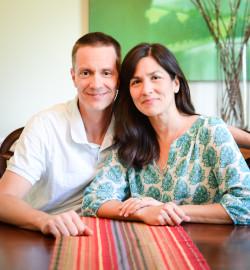 Marisa de los Santos and David Teague