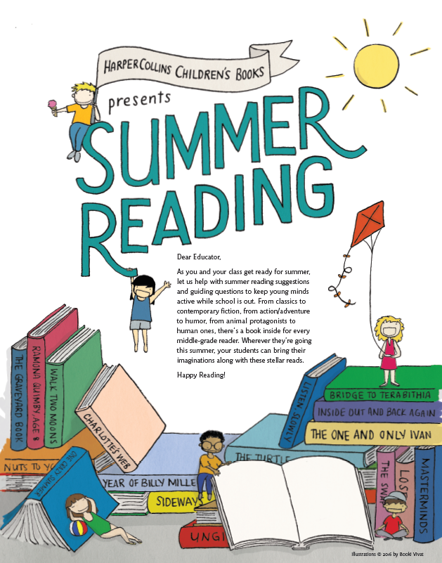 Free Summer Reading Guide From Harpercollins Children S